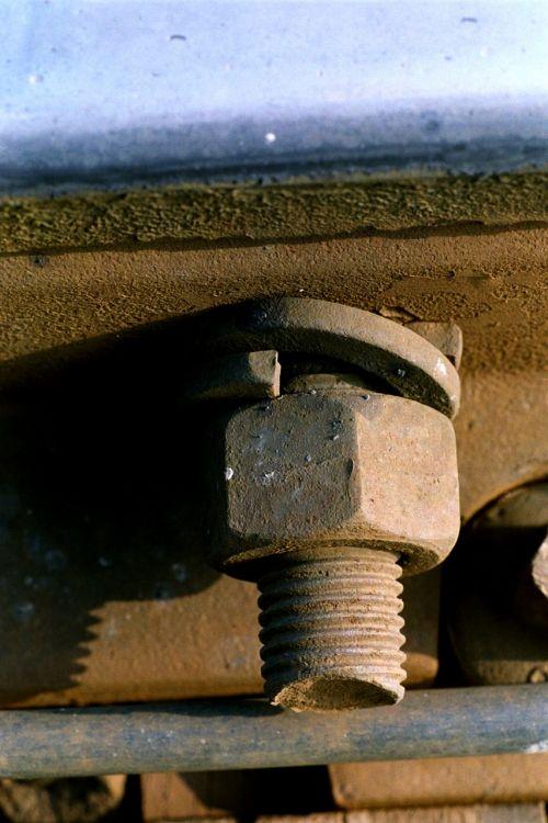 screw screw nut railway