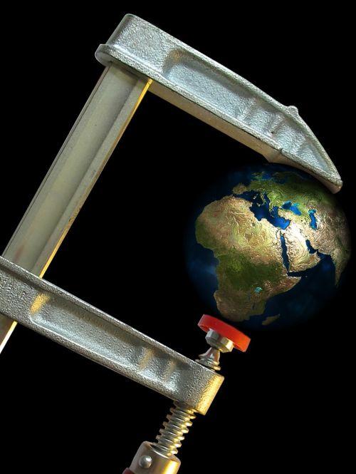 screw clamp suppression earth