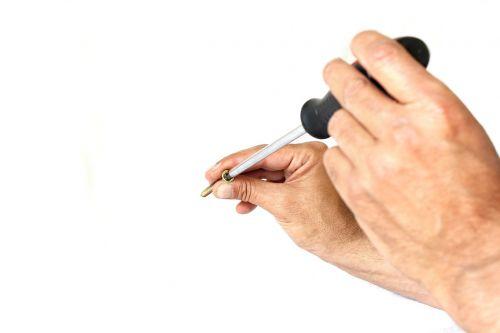screwdriver background screw