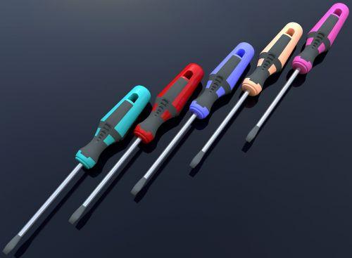 screwdriver tool color