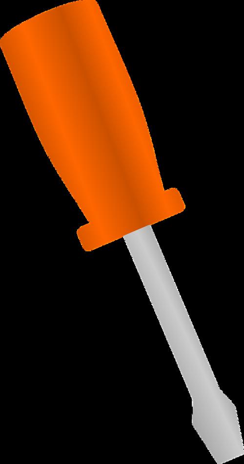screwdriver flat screwdriver tools