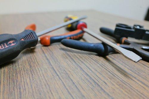screwdriver  tweezers  network