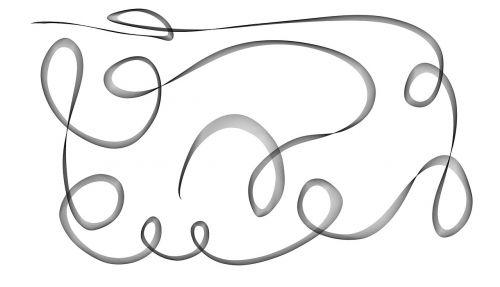 scribble curves drawing