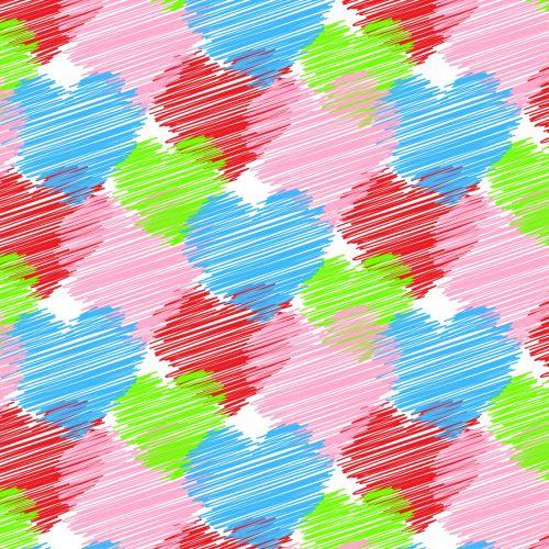 Scribble Heart Wallpaper