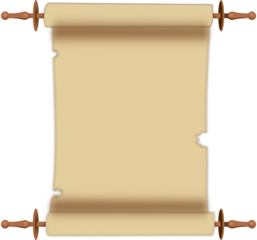scroll parchment document