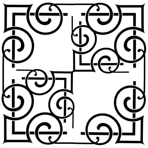 scroll vintage minimalist
