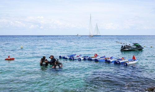 scuba diving people person