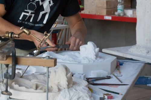 sculptor steinmetz arts crafts