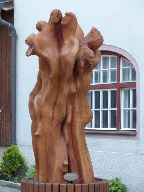 sculpture wood wooden figures
