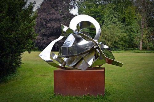 sculpture modern metal