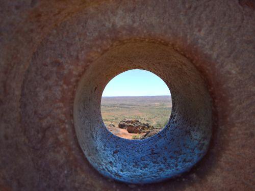 sculpture rock desert