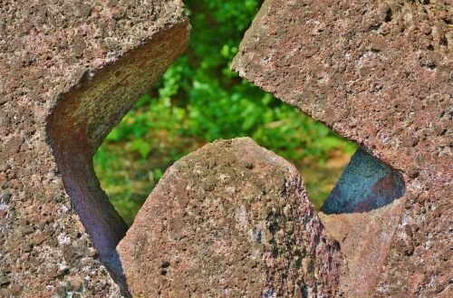 sculpture stone figure stone