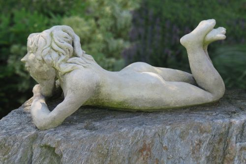 sculpture garden figurines female