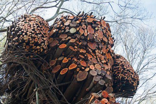 sculpture art branches