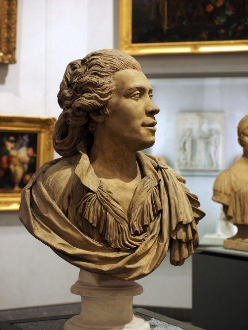 sculpture museum bust