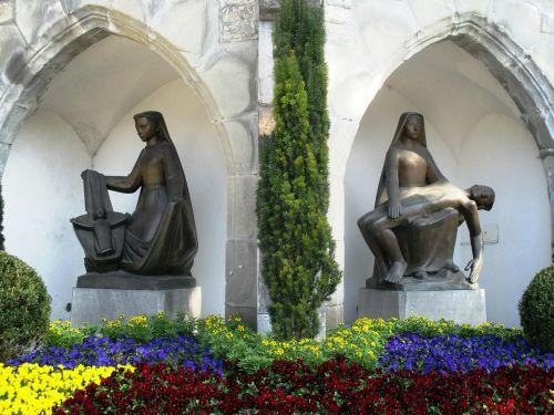 sculpture bronze sacral