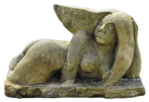 sculpture woman naked