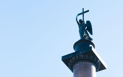 sculpture sky blue sky