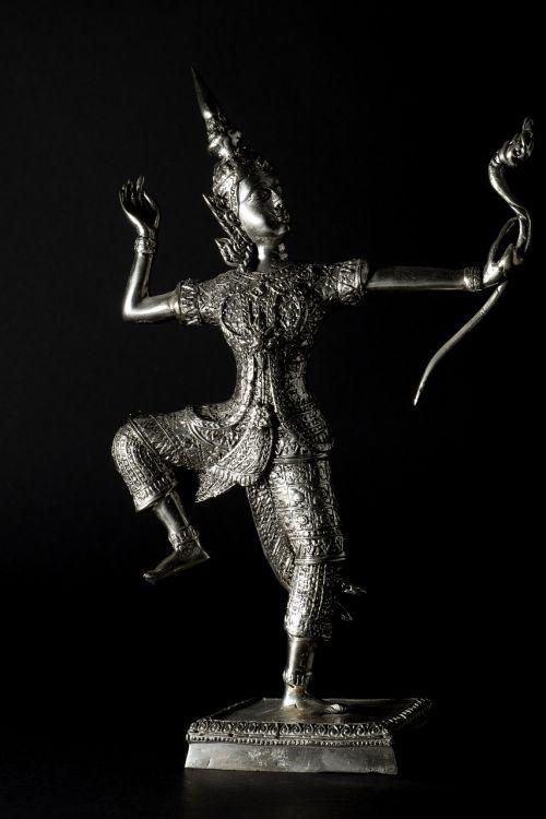 sculpture warrior archer