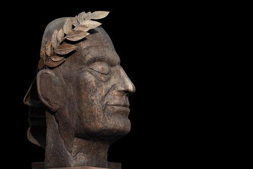 sculpture  julius caesar  statue