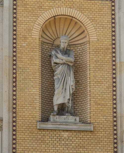 sculpture  art  aristotle