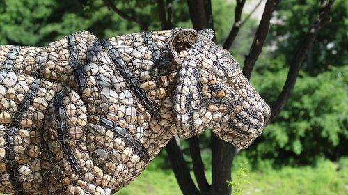 sculpture  tiger  works of art