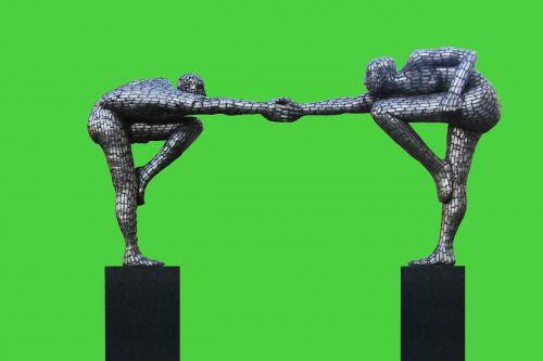 sculpture men harmony