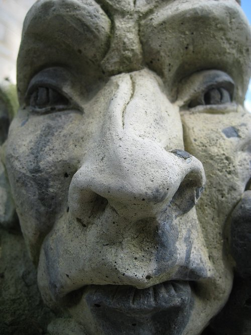 sculpture  face  fash