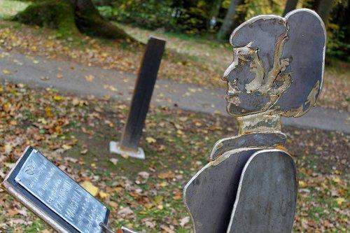sculpture  bad wörishofen  katherine mansfield