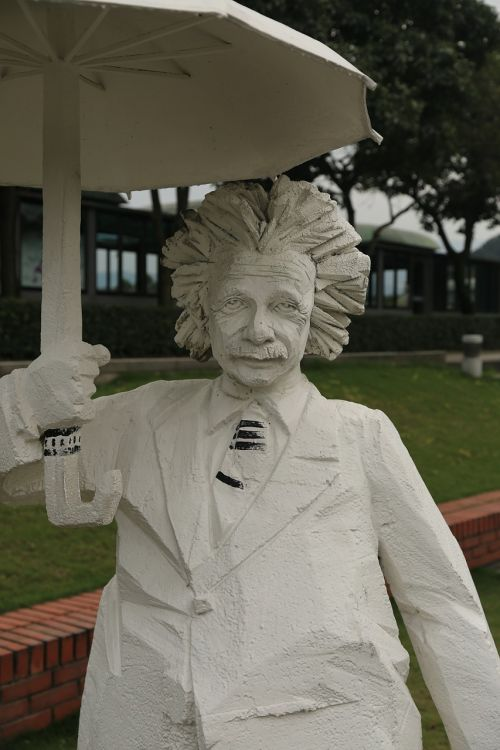 sculpture zhu ming einstein