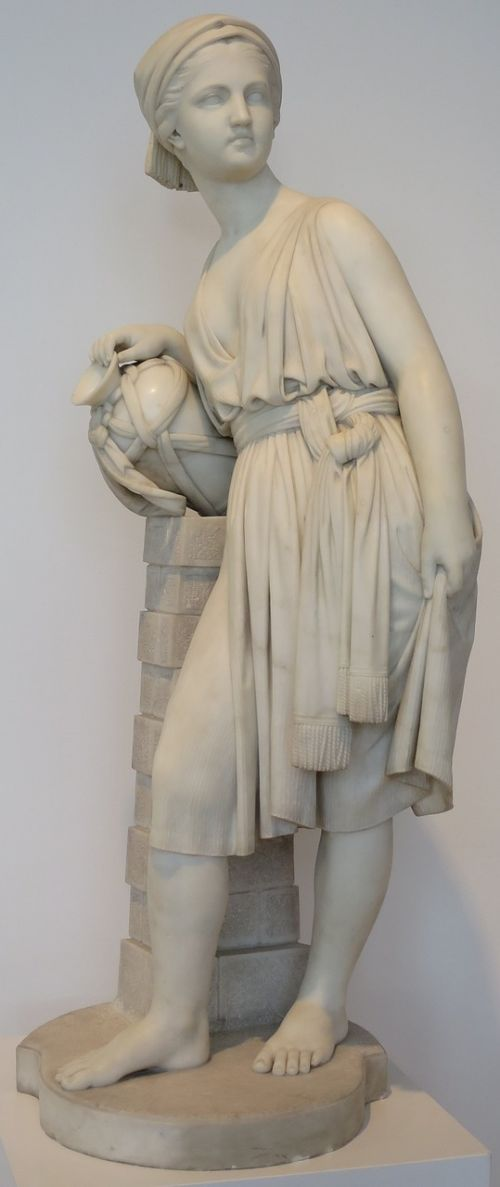 sculpture rebecca well