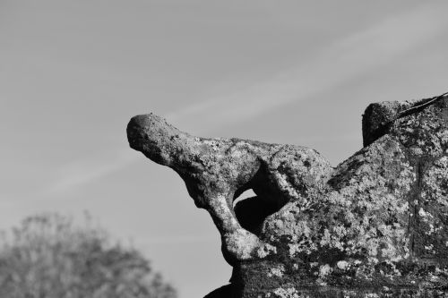 Sculpture Eroded By The Wind