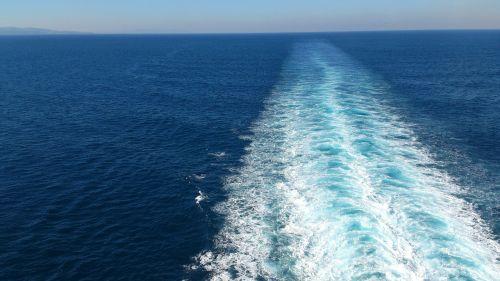 sea ship ocean