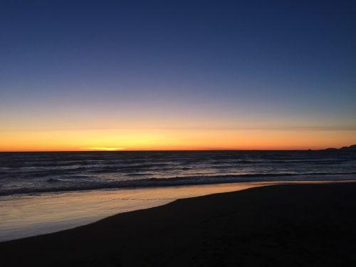 sea sunset forte dei marmi