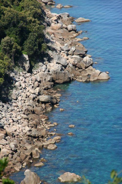 sea blue corsican