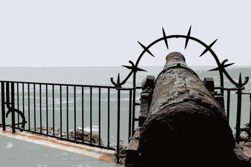 sea gun fortress