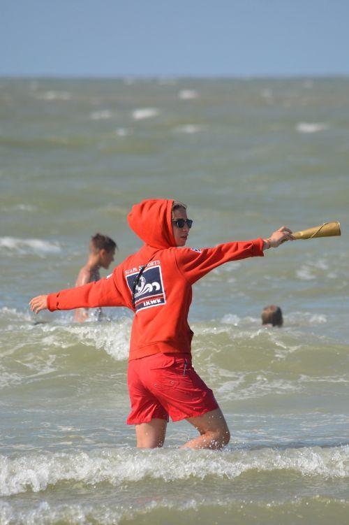 sea people holiday