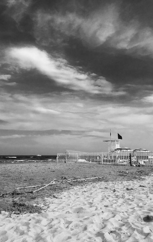 sea beach lifeguard tower