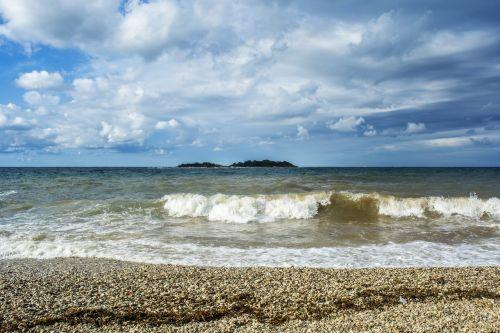 sea waves beach