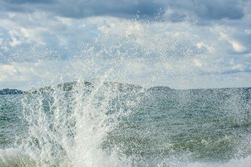 sea waves water