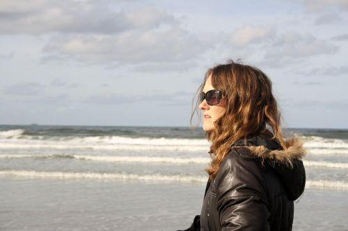 sea a breath of fresh air woman