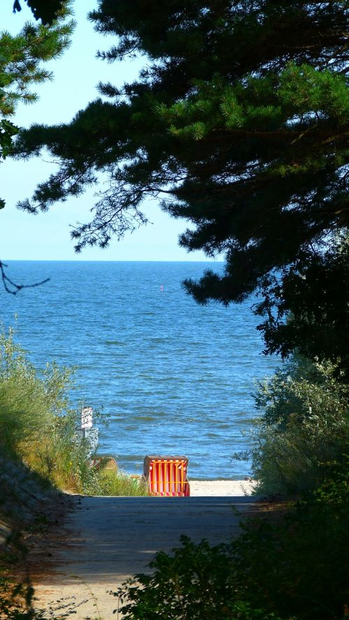 sea beach baltic sea