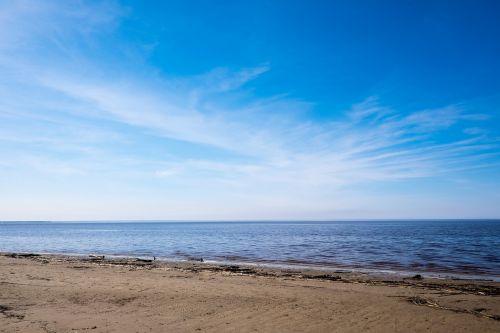 sea sky sand