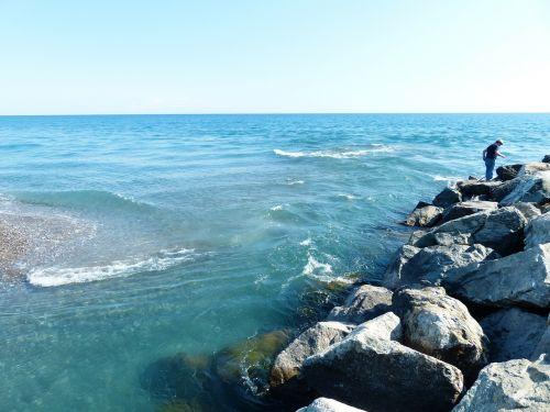 sea mediterranean angler