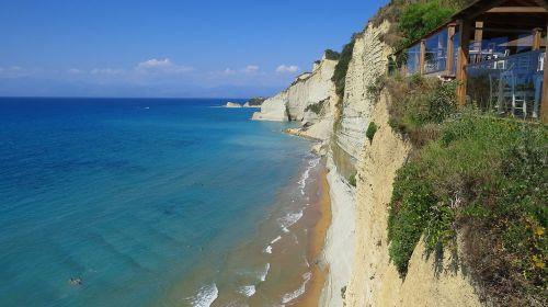 sea ionic cliff