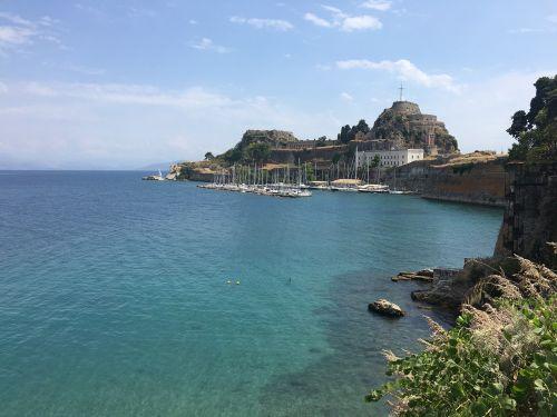 sea corfu greece
