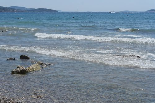 sea waves summer