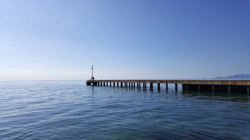 sea pier water