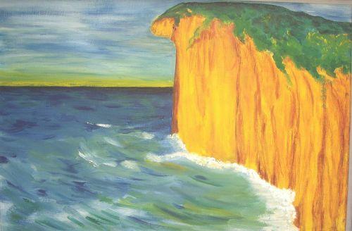 sea coast normandy