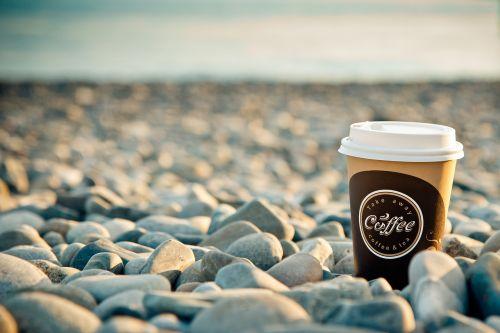 jūra,kava,rytas,pusryčiai,papludimys,akmenys,Labas rytas,energija